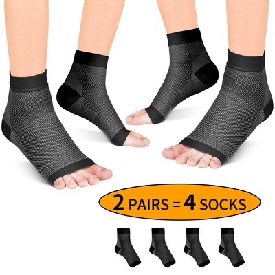 Fondenn Plantar Fasciitis Socks (2 Pairs)
