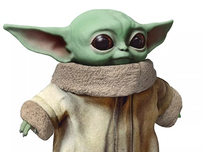 Baby Yoda dolls aren't exactly easy to find right now.