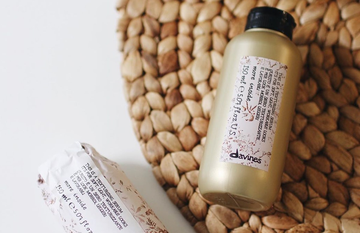 Davines' new This is a Texturizing Serum in bottle