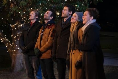 The Moodys cast singing