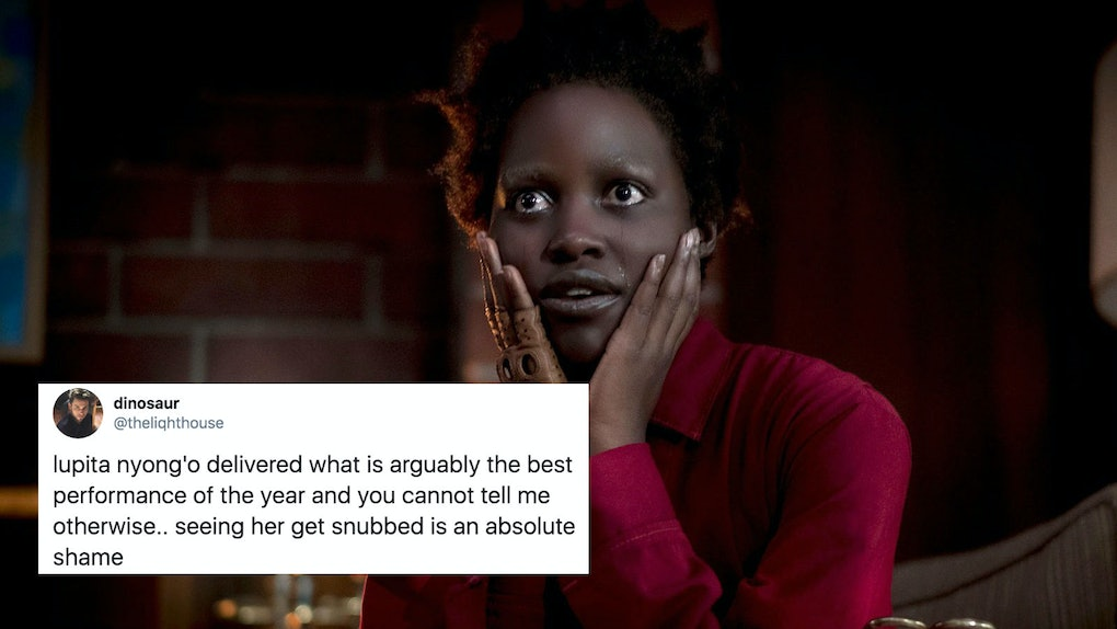 'Us' fans tweeted their disappointment at Lupita Nyong'o not getting a Golden Globe nomination.