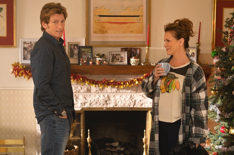Denis Leary and Elizabeth Perkins in The Moodys