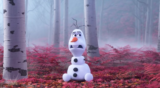 A rumor about Olaf's height circulated over the weekend.