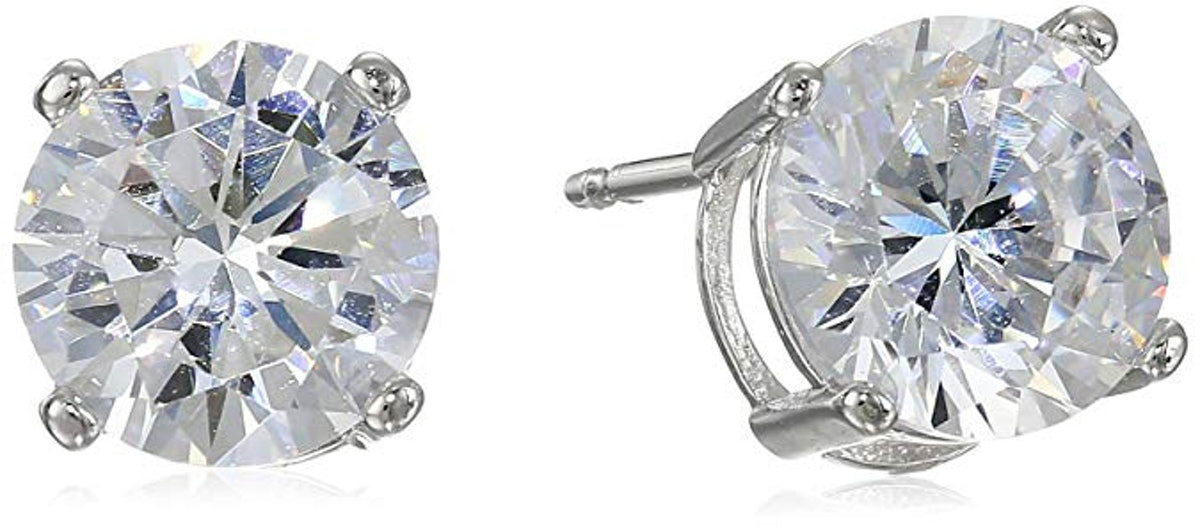 Amazon Essentials Plated Sterling Silver Earrings