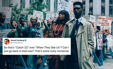 'When They See Us' fans tweeted their surprise at the Golden Globes snubbing the miniseries.