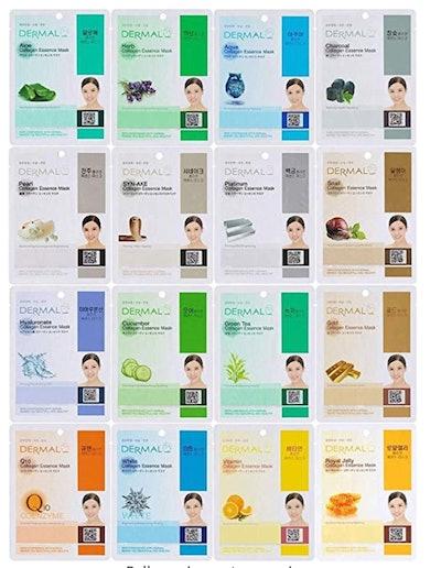 Dermal Collagen Essence Korea Face Masks (32 Count)