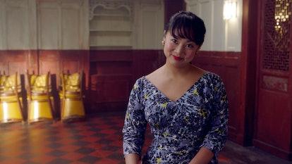 Mei Lin in Marvelous Mrs. Maisel Season 3.