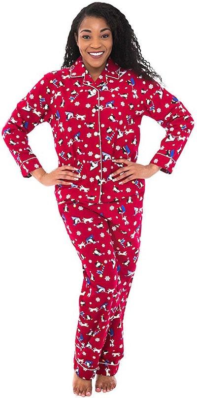 Alexander Del Rossa Flannel Pajama Set
