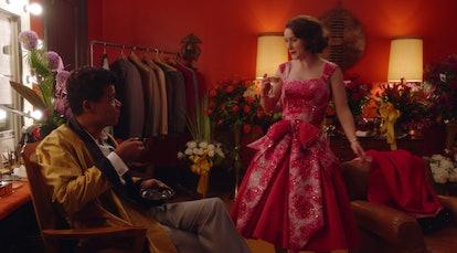 Shy Baldwin and Midge in The Marvelous Mrs. Maisel Season 3