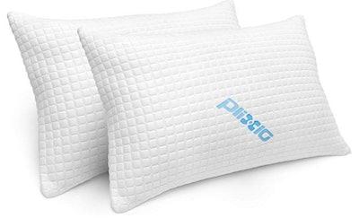 Plixio Shredded Memory Foam Pillows (2-Pack)