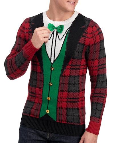 Tuxedo Christmas Sweater