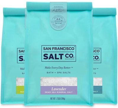 Dead Sea Mineral Bath Salt Set
