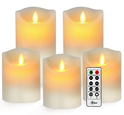 Aignis Flickering Flameless Candles