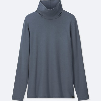 Heattech Extra Warm Turtleneck Long-Sleveed T-Shirt