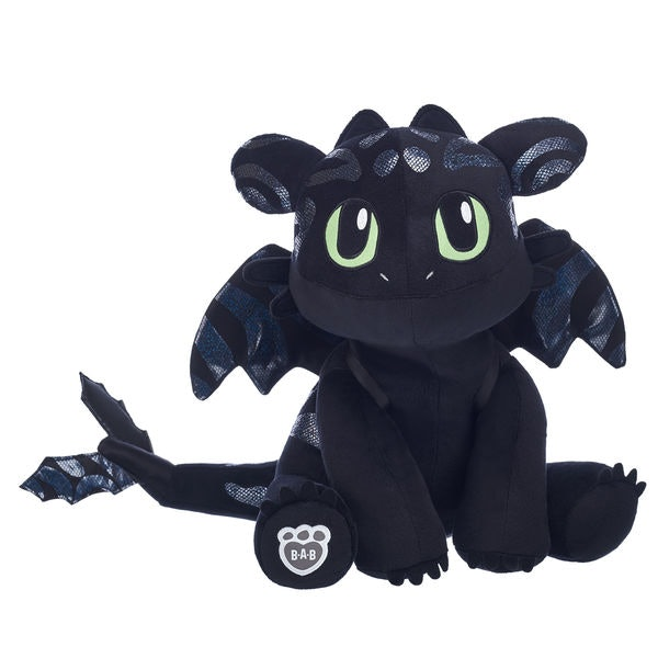 """Toothless Build A Bear Plush Stuffed Animal 2014 How To Train Your Dragon 14/"""""""