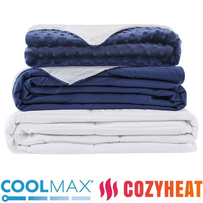 Degrees of Comfort Weighted Blanket Set