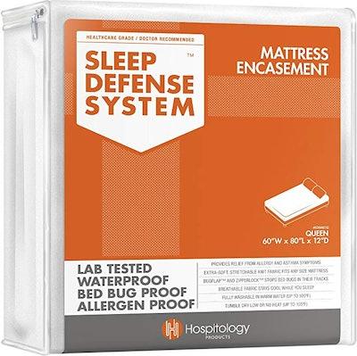 Hospitology Products Sleep Defense System Mattress Encasement