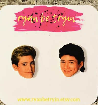 'Saved By The Bell' Zack & Slater Earrings