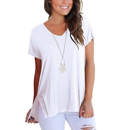 FAVALIVE Women's Short-Sleeve T-Shirt