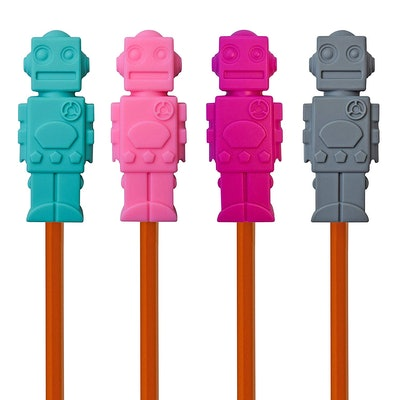 Munchables Chewable Pencil Toppers