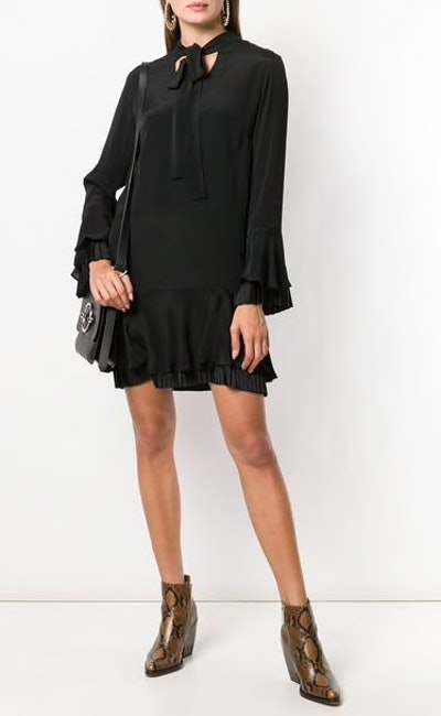 Ruffled Short Dress