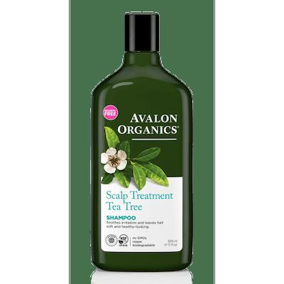 Avalon Organics Scalp Treatment Tea Tree Shampoo, 11 Fl Oz
