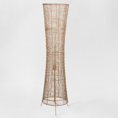 Natural Woven Ambient Floor Lamp Natural (Includes Energy Efficient Light Bulb) - Project 62 + Leanne Ford