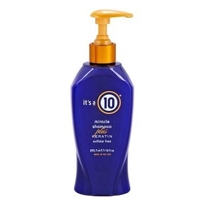 It's A 10 Miracle Shampoo Plus Keratin Sulfate Free, 10 Oz