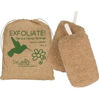 DeLaine's Exfoliating Body Scrubbers (Set of 2)