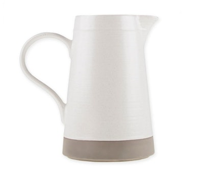 Bee & Willow™ Home Milbrook Pitcher in Coconut White