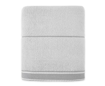 Bee & Willow™ Home Midsomer Striped Bath Towel in Grey