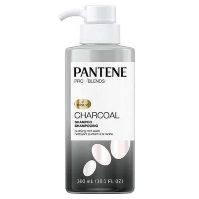 Pantene Pro-V Blends Charcoal Shampoo Purifying Root Wash 10.1 fl oz