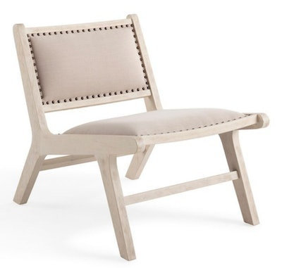 Bee & Willow™ Home Wood Frame Accent Chair in Natural