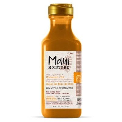 Maui Moisture Curl Quench + Coconut Oil Shampoo, 13 FL OZ