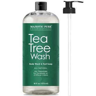 Majestic Pure Antifungal Tea Tree Body Wash