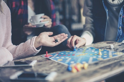 Playing board games together is always a fun way to pass the time during the holidays