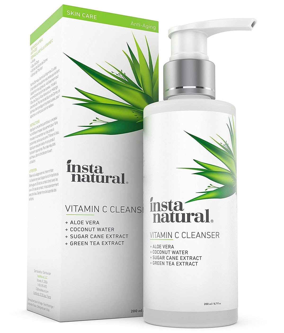 InstaNatural Facial Cleanser