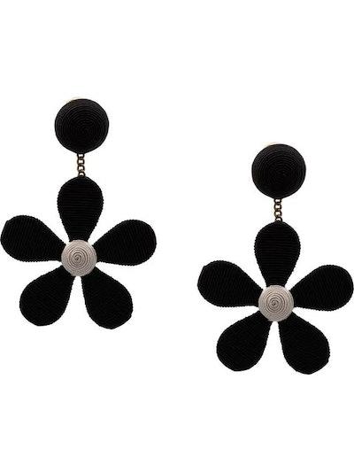 Rebecca de Ravenel Flower Shaped Earrings