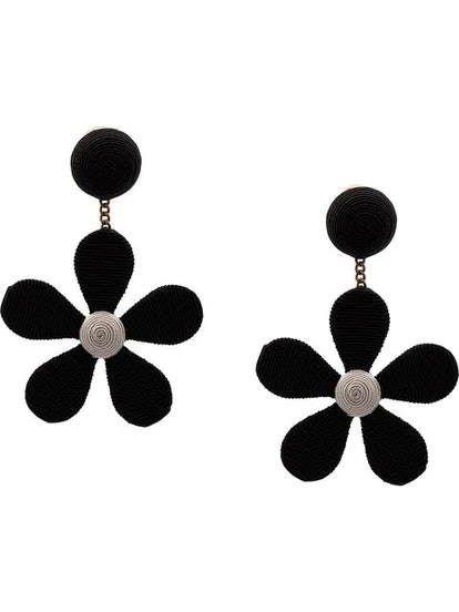 Rebecca de Ravenel Flower Shaped Earrings