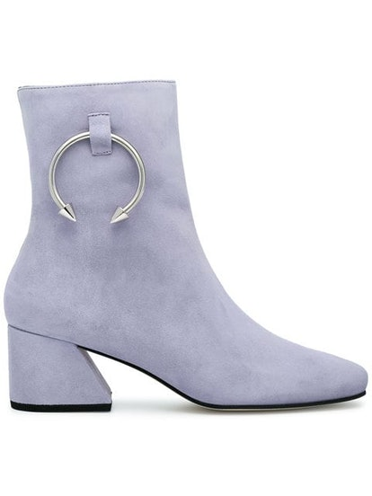 Lilac Suede Nizip II 60 Ankle Boots