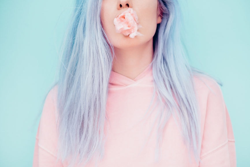 35 Instagram Captions For Pastel Hair This Spring, Because