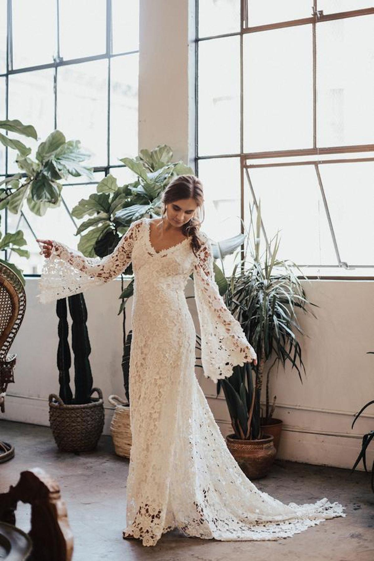 Arabelle Boho Wedding Dress