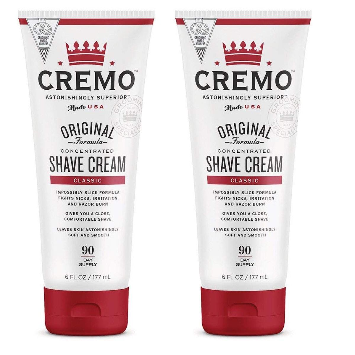 Cremo Original Shave Cream (2 Pack)