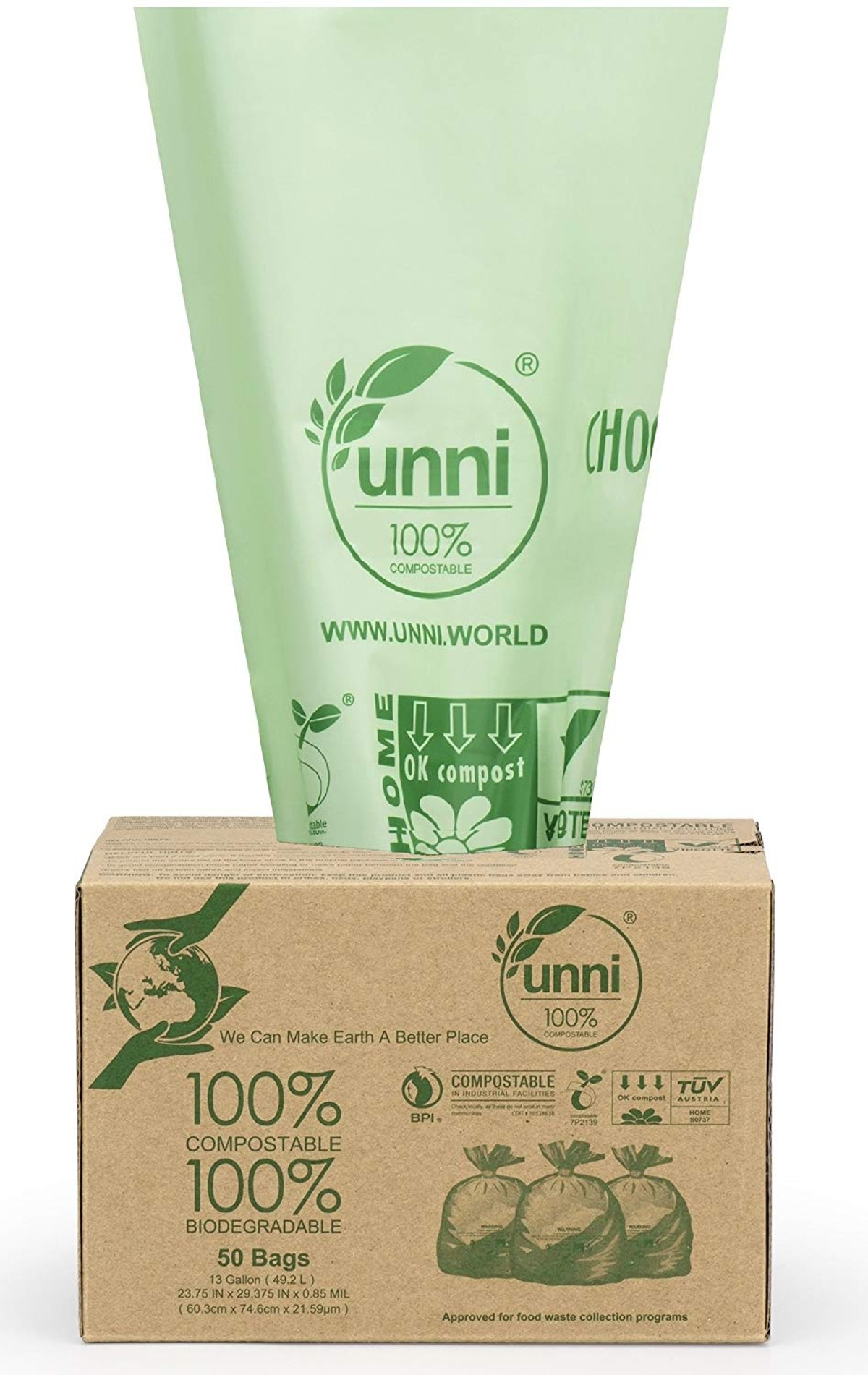 UNNI Compostable Bags