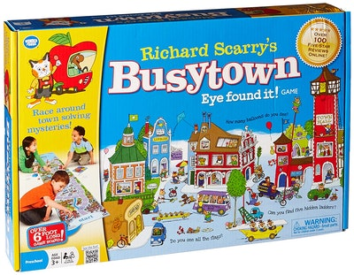 Wonder Forge Richard Scarry's Busytown, Eye Found It Toddler Toy and Game