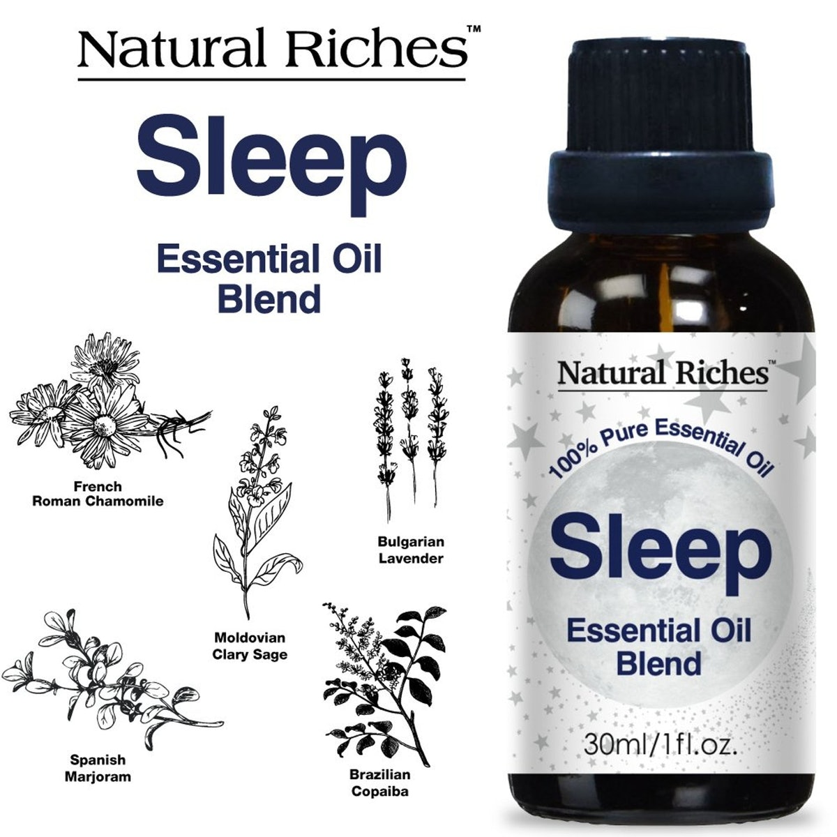Natural Riches Goodnight Sleep Essential Oil