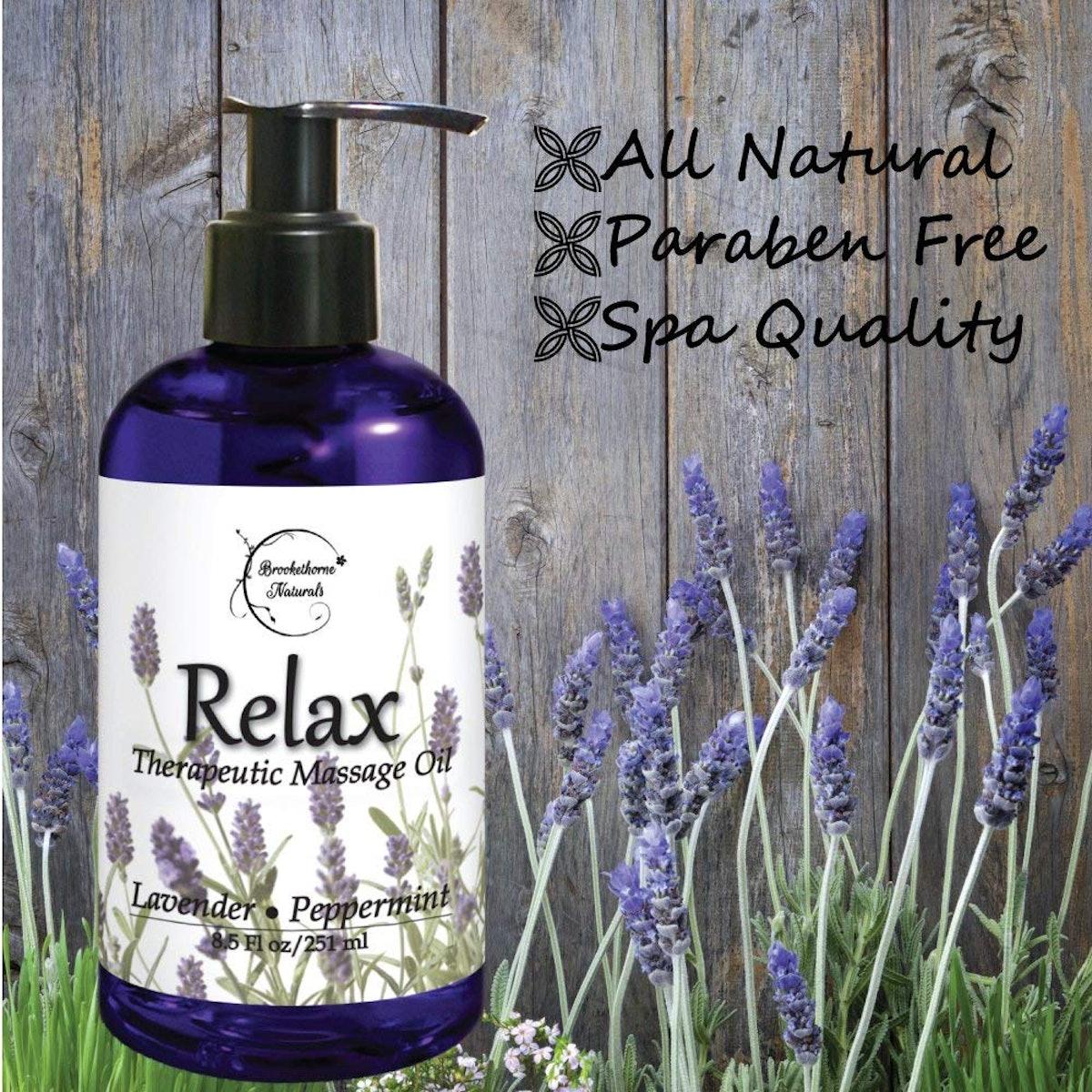 Brookethorne Naturals Body Massage Oil