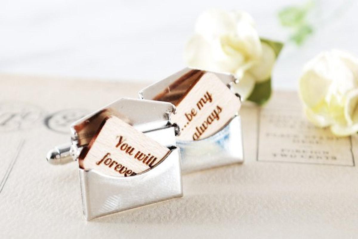 You've Got Mail Personalized Cufflinks