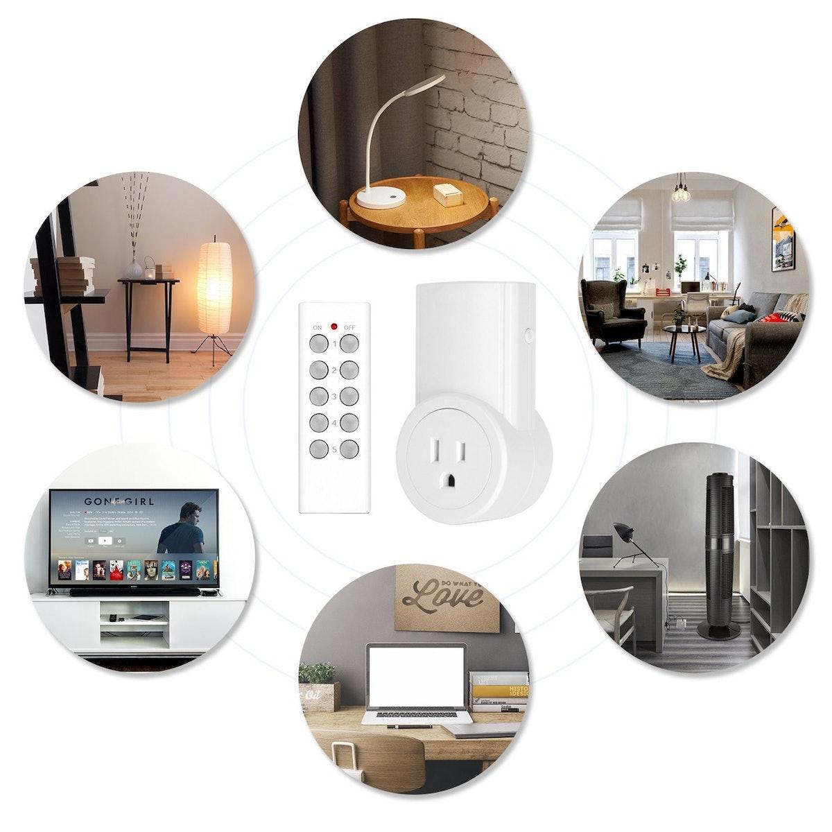 Etekcity Remote Control Outlet Kit