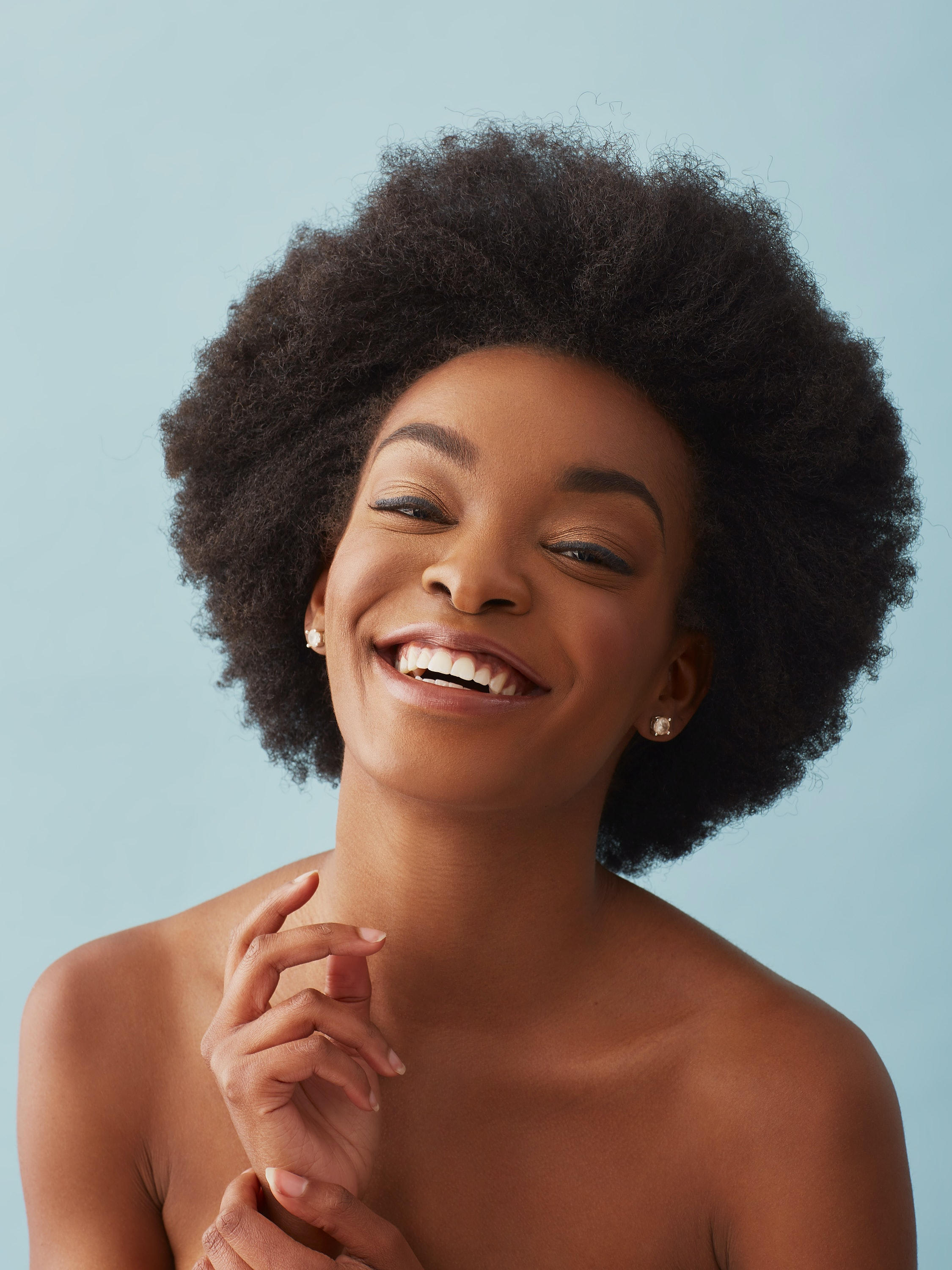 Black girl afro hairstyles